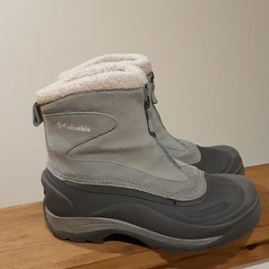 Columbia Thermolite Zip Boots. Size 5.5